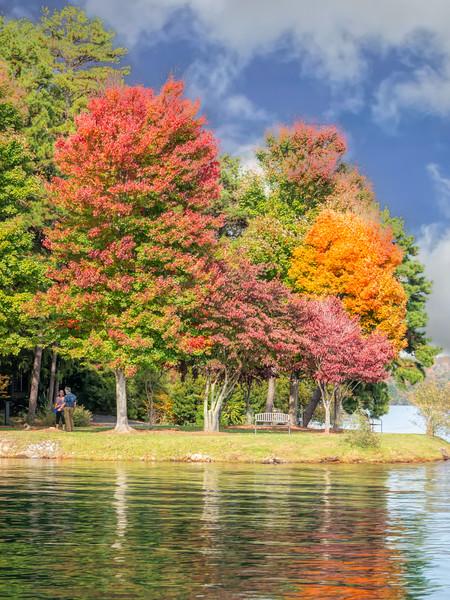 Keowee Key Leisure Trail Autumn View