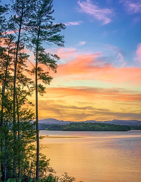 Lake Keowee Sunset View (2)