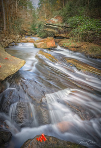 Long Shoals Park Cascades