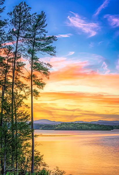 Lake Keowee Sunset View