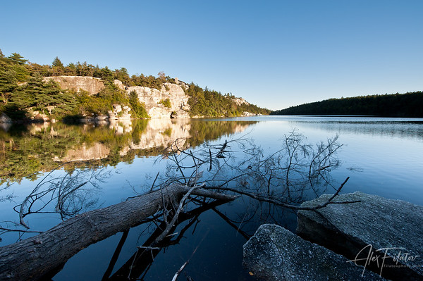 Dusk at Lake Minnewaska