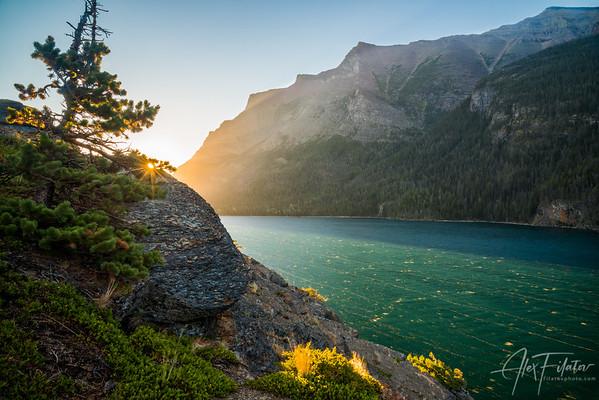 Glacier Daybreak