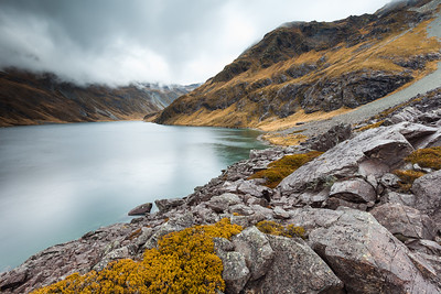 Ancient landslide, Lake Constance, Nelson Lakes National Park