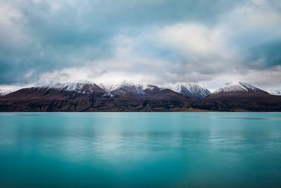 Lake Pukaki and Ben Ohau Range, Mackenzie Basin