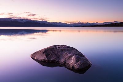 Lake Pukaki and Southern Alps, Mackenzie Basin