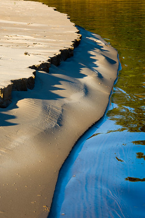 Sandscape - The Rock River, Carnegie Woods.  Naubinway, MI