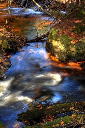 The Rock River - Carnegie Woods.  Naubinway, MI