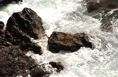 Rocks and Waves - Hawaii
