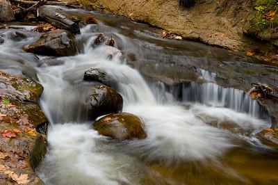 Sable Falls closeup.  October 2011