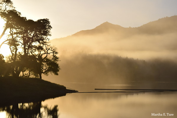 Dawn at Lake Bon Tempe