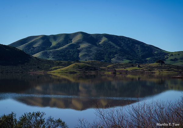 Black Mountain and Nicasio Reservoir