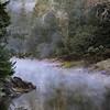 Mist on Lake Bon Tempe