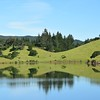 Green Hills and Lake Bon Tempe