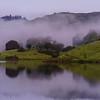 Lake Bon Tempe, Mist Rising