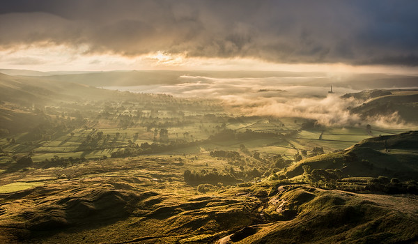 Sunrise over the Hope Valley