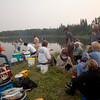 Churchill and Sturgeon-Weir Rivers Tandem Trek 2013: Day 9 - Snake Rapids camp