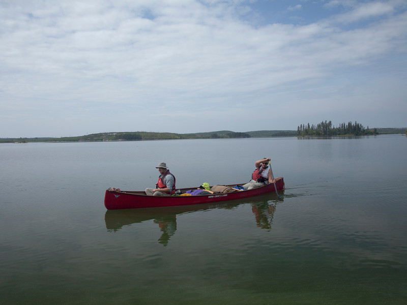 Churchill and Sturgeon-Weir Rivers Tandem Trek 2013: Day 5 - Wood Lake