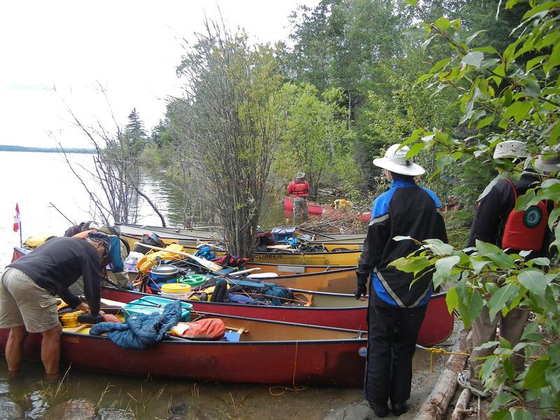 Churchill and Sturgeon-Weir Rivers Tandem Trek 2013: Day 4 - Grand Rapids