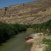 Texas - Paddling the Rio Grande, first campsite