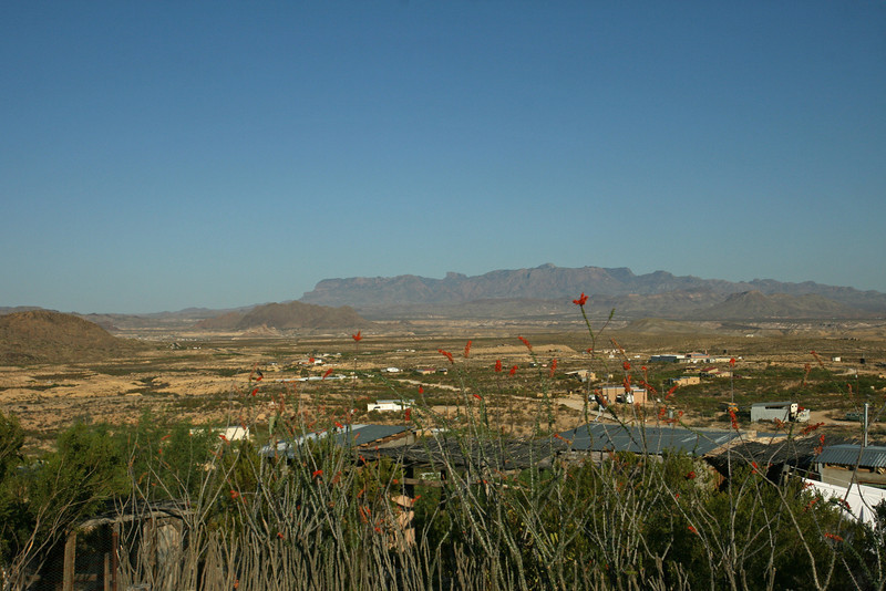 Texas - Terlingua, jumping off point for Big Bend National Park