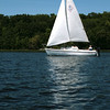 This looks like fun! Coronado sailboat on Crooked Lake.
