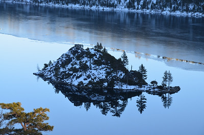 The Emerald Bay island - January 21, 2013