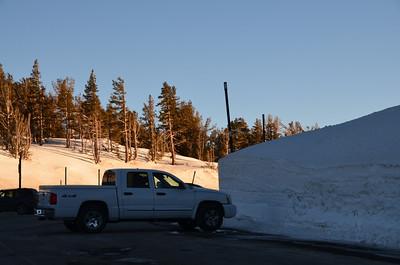 At Mount Rose Pass - January 21, 2013