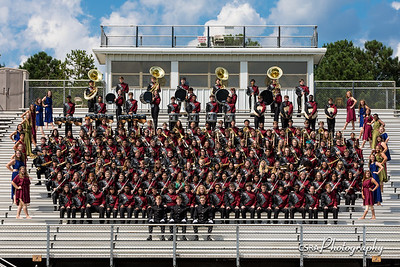 Band Picture Day 8/23/17