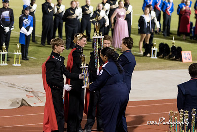 Grovetown Marching Band Invitational 10/21/17