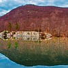 Rocky  Reflection on Hesssion Lake.