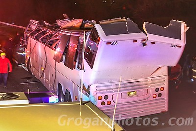 Coach Bus Accident Southern State Parkway 4/8/18