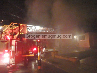 Ostego Rd House Fire 11/23/13