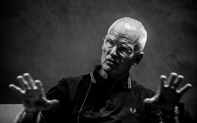 Lama Ole Nydahl giving a lecture
