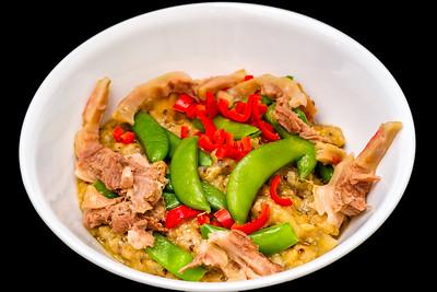 Lamb and pork congee