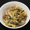 Curry lamb and cabbage