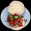 """Slowly roasted lamb shoulder roll with cheese and chillies<br /> Video at <a href=""""https://youtu.be/KvT9GnJQTNM"""">https://youtu.be/KvT9GnJQTNM</a><br /> #lunch #yummylummy #foodporn #yummy #delicious #instafood #nikon"""