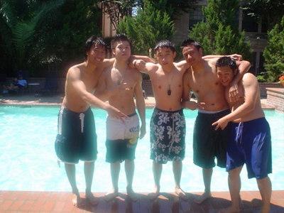 αΚΔΦ & ΛΦΕ Pool Party Fall 2005