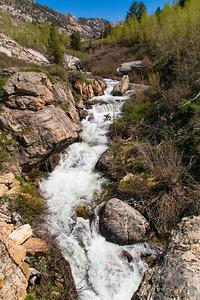 Cascades Down Lomille Creek