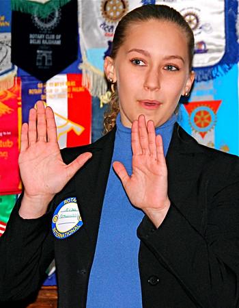 Lamorinda Sunrise Rotary February 20, 2009