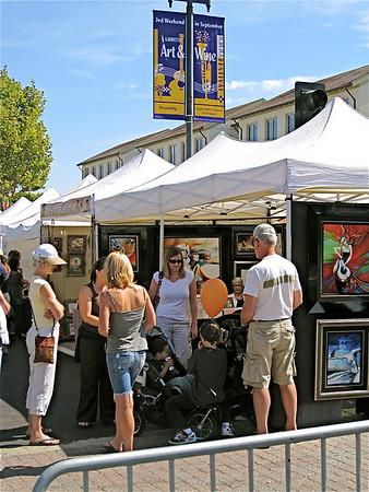 Lamorinda Sunrise Rotary September 26, 2008 + Lafayette Art & Wine Festival 09/21/08 + Sept. TGITLFOTM at Wares'