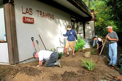 Las Trampas Landscape Work Day October 4,2008