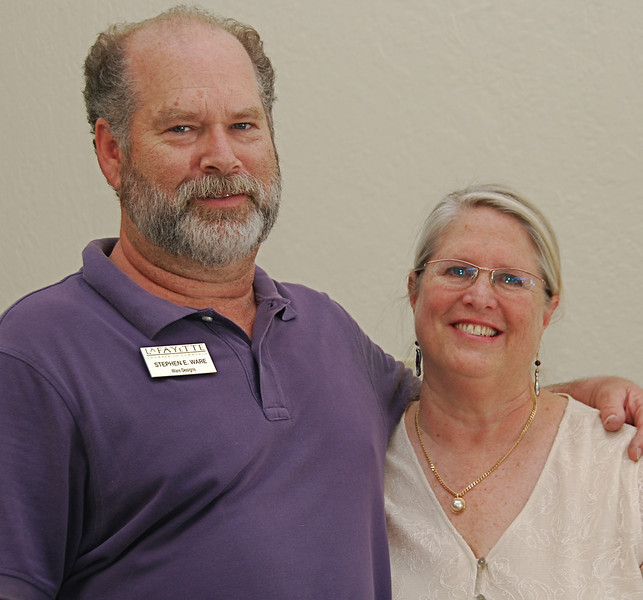 Steve and Laurie Ware.
