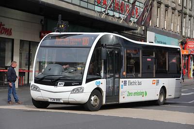 Garelochhead Coaches YJ14BDE Union Street Glasgow Sep 18