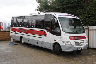 Anns Coaches Kirkintilloch 8402AC Depot Waterside Mar 14