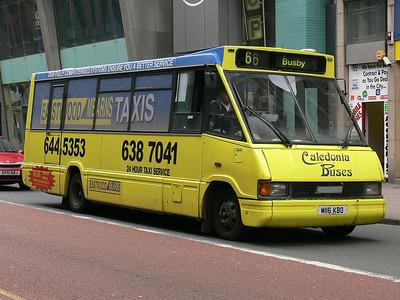 Caledonia Buses Glas M116KBO Glassford St Glas Jun 07