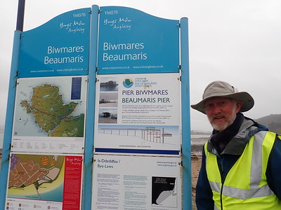 Brian arrives in Angelsay and walks to Beaumaris