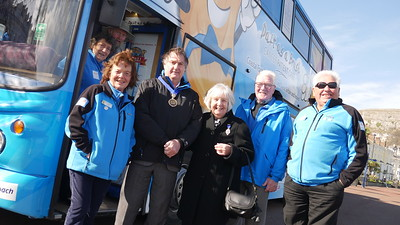 Llandudno Mayor and the Team
