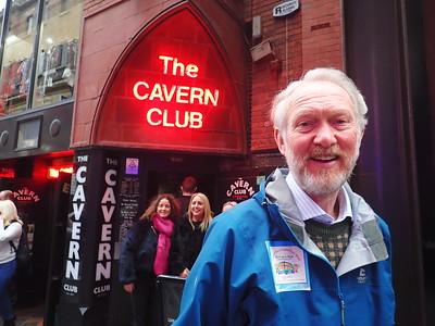 Brian passes the Cavern Club