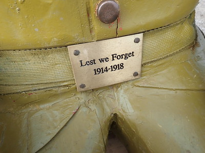 """To honour WW1 soldiers """"Lest we Forget"""""""