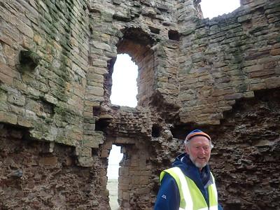 Brian discovers Flint Castle
